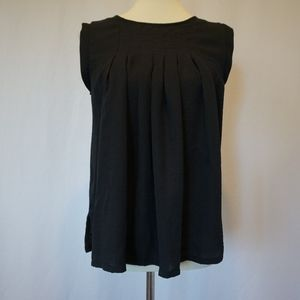 Black Baby Doll Blouse